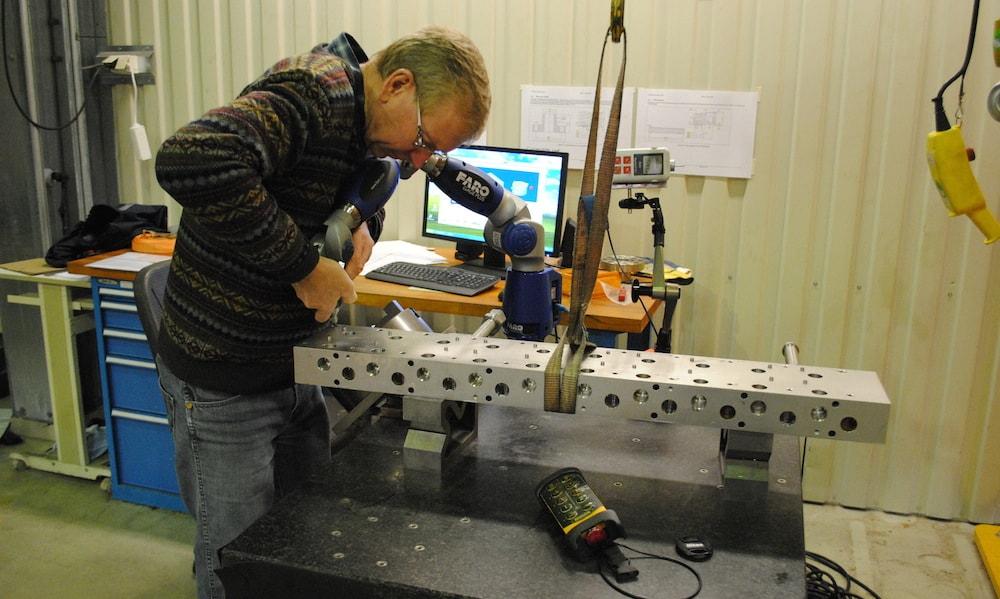 3D måling med Faro Arm