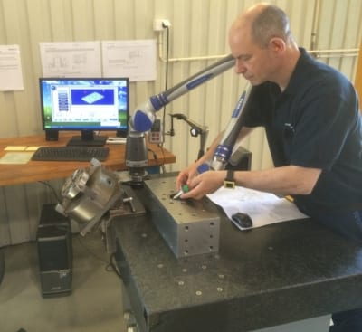 3D Measuring with Faro Arm