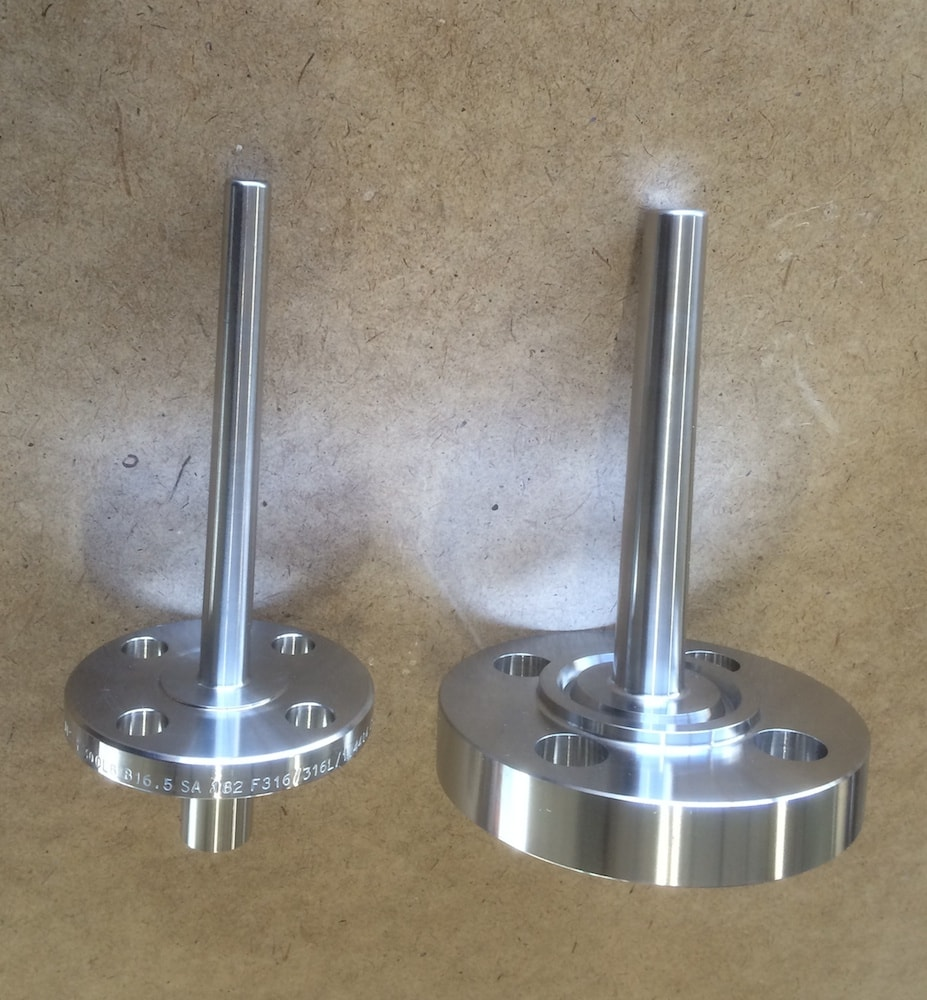 Thermolomme Thermowell